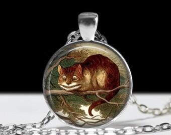 The Cheshire Cat Pendant Allice in Wonderland Pendant