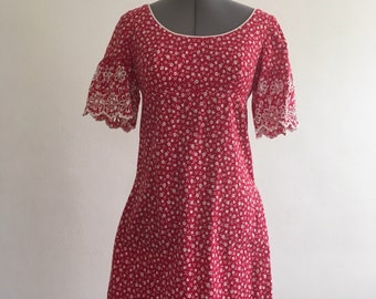 Hearts and flowers dress