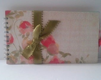 Handmade One of a Kind Mother's Day Spring Memory Scrapbook Photo Album Journal