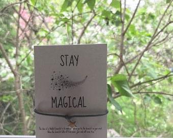 Stay Magical Wishlet Charm Bracelet, FREE SHIPPING