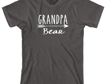 Grandpa Bear Shirt - father's day gift idea, papa, pawpaw, Christmas gift, birthday gift, fisherman gift - ID: 1910