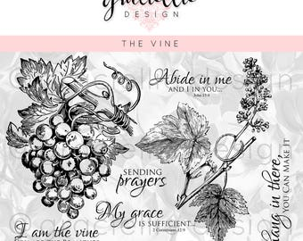 The Vine Digital Stamp Set