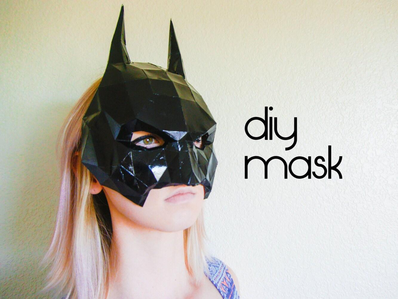 ?zoom & Batman Mask Make your own with a PDF Download batman