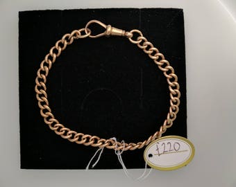 9ct Rose Gold Charm Bracelet