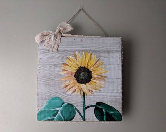 Sunflower Painting Country Decor