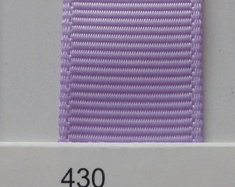 "3/8"" / 10mm Solid Grosgrain Ribbon LIGHT ORCHID #430 X 2 METERS"