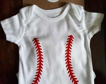 Baseball Bodysuit- Personalized