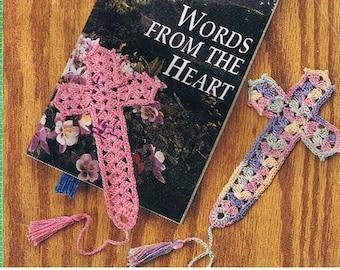 crochet cross bookmarker crochet pattern/pdf