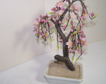 Cherry Tree w/Pink Blossoms