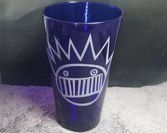 Ween Boognish Sandblasted Etched Pint Glasses