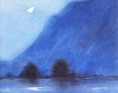 "Moonrise, 10"" x 10&q..."
