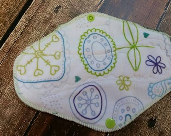 9 Inch Kinder Minky Cloth Pad Regular Menstrual Cloth Feminine Hygiene