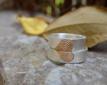 Matching Wedding rings Unique wedding rings Wedding ring set Commitment Rings wedding Bands Sterling Silver Rings Man's & Women's rings