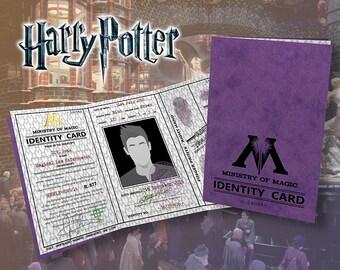 Hi·Res Ministry of Magic Identity Card (pdf)