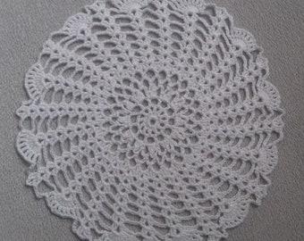 handmade lace doily - dream catcher - coaster, various sizes
