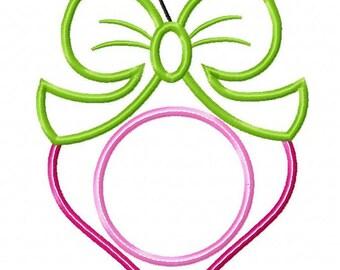 Ornament Machine Embroidery Design