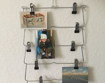 Clip  skirt hanger,   Metal clip photo display