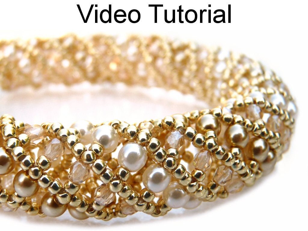 Bracelet Necklace Beading Tutorial Video Beaded Jewelry Making