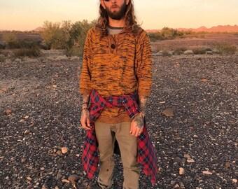 SOLD OUT! VINTAGE 90s / V-neck Sweater