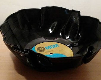 The Osmonds Vinyl Record Bowl Fun Unique Gift great for chips or popcorn Free Shipping