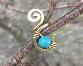 Wire Bead Turquoise
