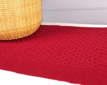 Handwoven Holiday Huck Placemats (set of four)