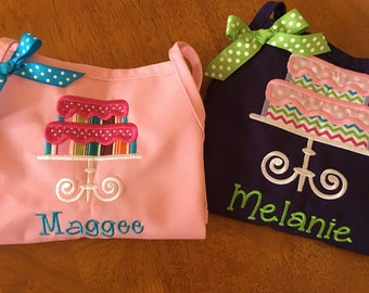 Personalized Apron -2 Tier Cake Apron