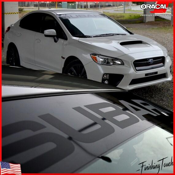 Subaru decal windshield banner sticker plus window vinyl visor