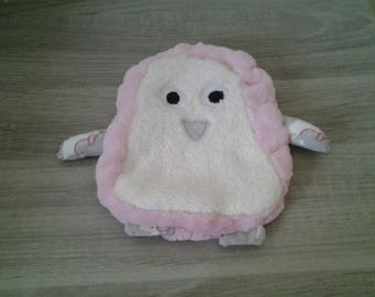 Cuddly soft flat Penguin