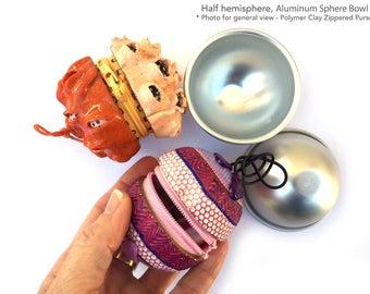 Metal Bowl, Mold, Cake Molds, Half Ball, Polymer Clay, Aluminum Sphere, Bath Bombs, Pan Tin Baking Mold, DIY Decorative Tools, Pastry Mould