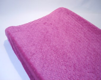 Changing Pad Cover Berry Pink