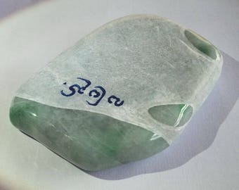 JADEITE has 100% raw natural stone polished by place, original Myanmar 231.