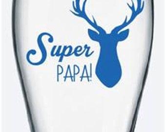 """Sticker """"Super Dad!"""