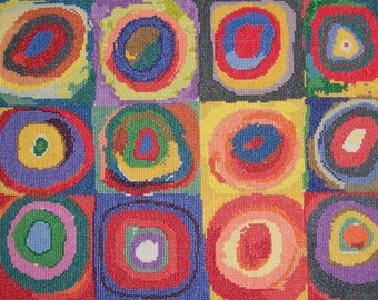 Squares with Concentric Circles by Kandinsky--LB07241