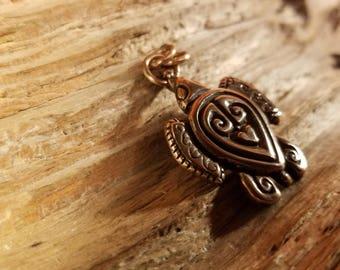 Bronze Turtle pendant