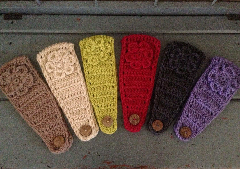 Women\'s Ear Warmer Crochet Earwarmer Headband Head Wrap