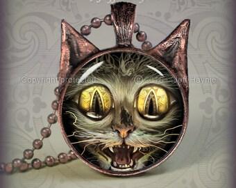 SC4 ZOMBIE CAT pendant
