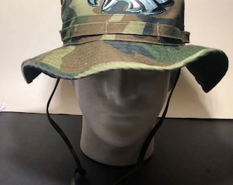 Eagles military bucket hats.