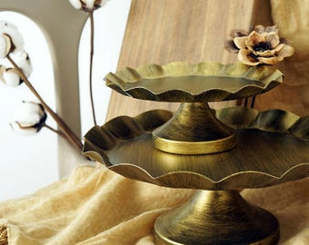 Bronze Metal Cake Cupcake Stand Display Party decoration and supplies