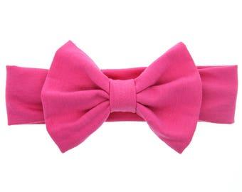 Bow knot stretch headband/ baby headband/ turban.