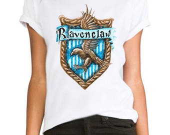 Ravenclaw harry potter printed hipster swag  ladies/womens/girls 100% cotton tshirt tops tee