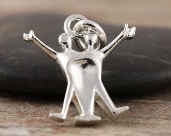 Gemini zodiac pendant in sterling silver - Zodiac necklace, zodiac jewelry, astrology