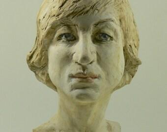 Portrait bust corinna harfouch
