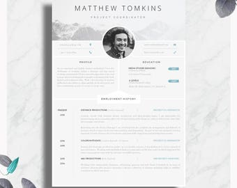 Modern resume template single page resume template cover cv template creative resume template modern cv cover letter advice printable altavistaventures Image collections