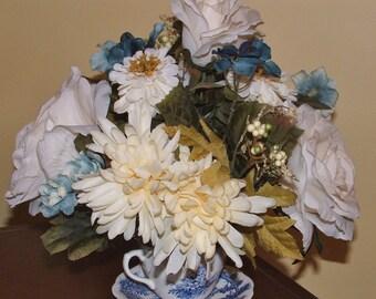 British Anchor England Teacup Fall Floral