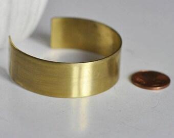 Brass cuff raw width 20mm