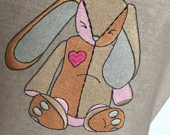 Teacher Apron, Free Hugs Apron, Custom Apron, Monogrammed Apron, Embroidered Apron, Personalized Apron, Teacher Appreciation Gift