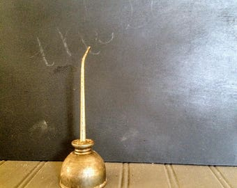 """Vintage Tiny Oil Can Metal Oil Can 5"""" Oil Can"""