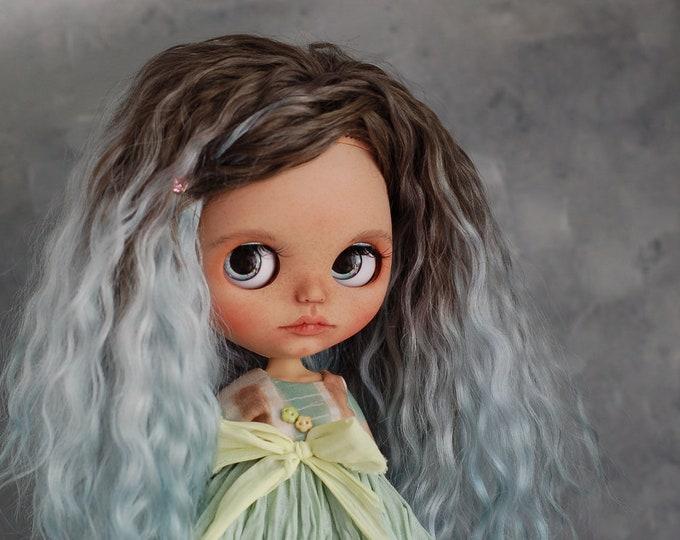 """Custom Blythe doll OOAK """"Mikka"""" from Katalena, mint"""
