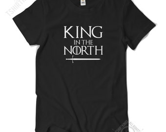 King in the North T Shirt - Regular Fit - Game of Thrones - Jon Snow